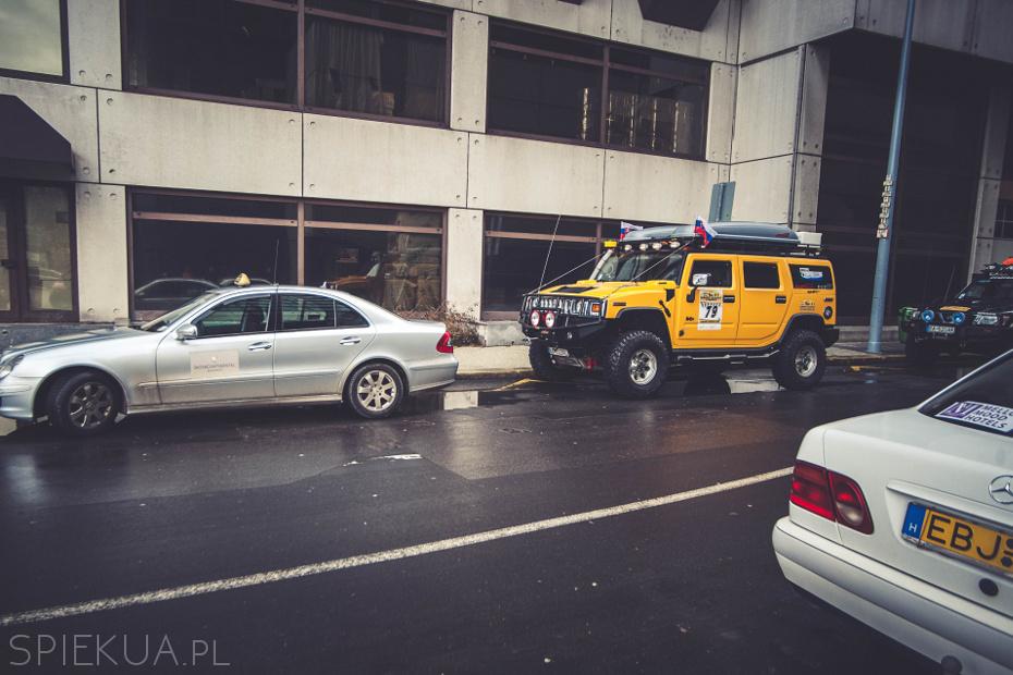 samochody terenowe w Budapeszcie