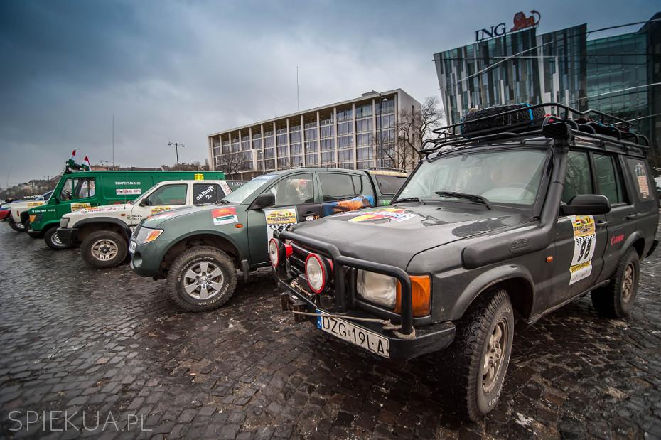 Budapest Bamako - dzień przed startem