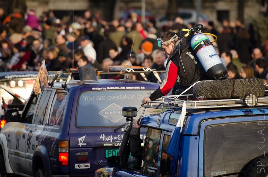 Budapest Bamako Rally start