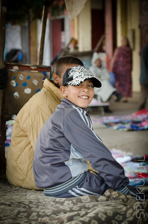 chłopiec Maroko
