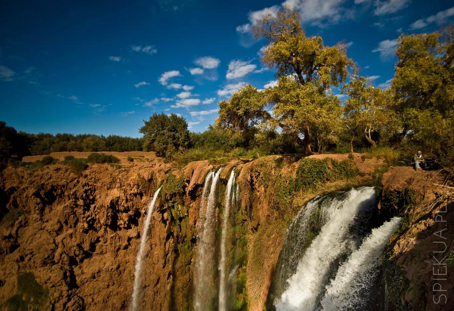 Wodospad Ou Zoud