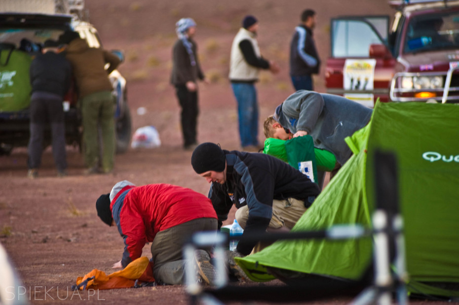 biwak Maroko