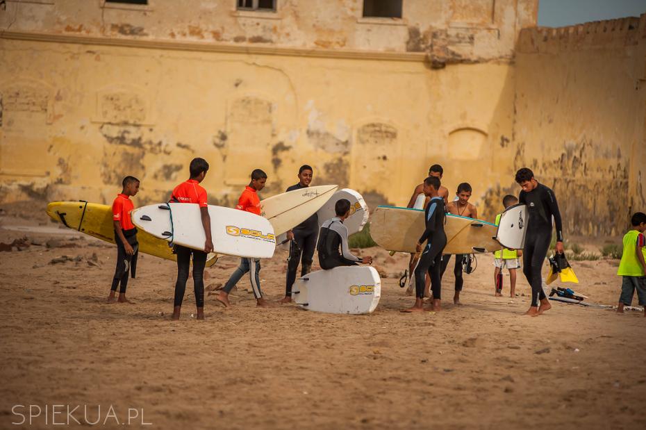Western Sahara - szkoła dla surferów