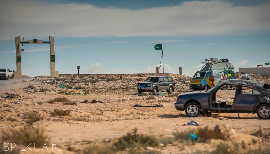 Mauretania border