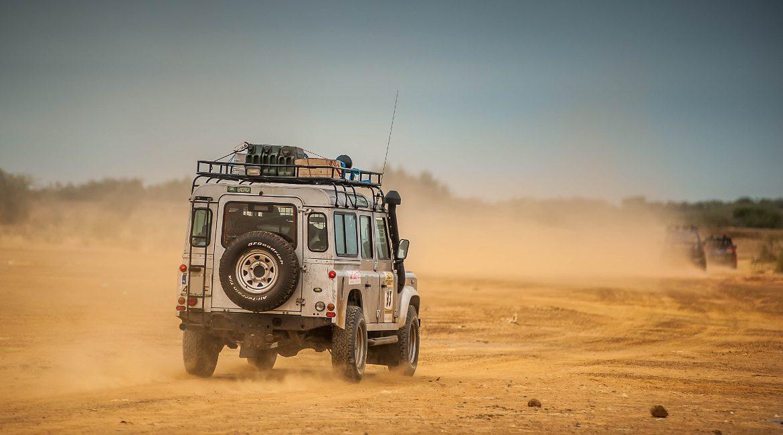 rajd przez piaski
