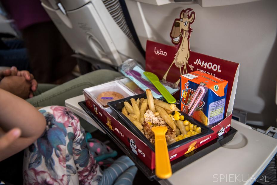 etihad jedzenie dla dzieci