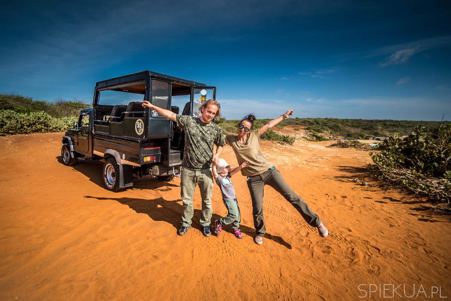 rodzinka na safari