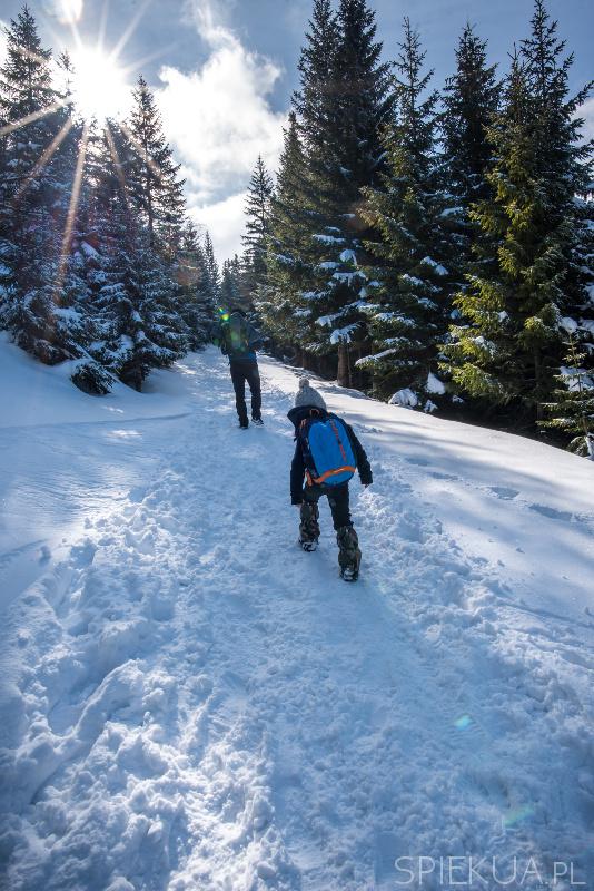 trasa na śnieżkę