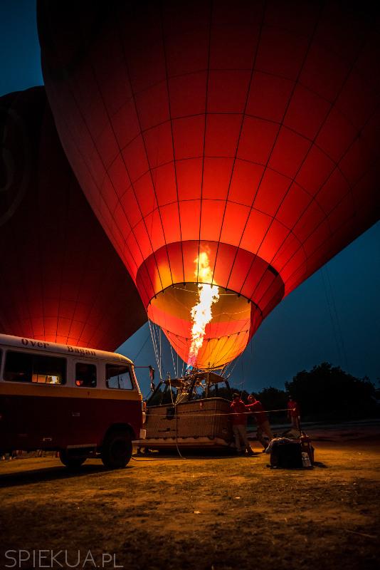 lot balonem nad baganem