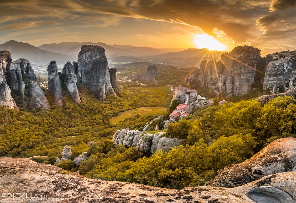Grecja Meteory