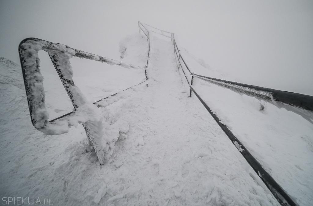śnieżka punkt widokowy