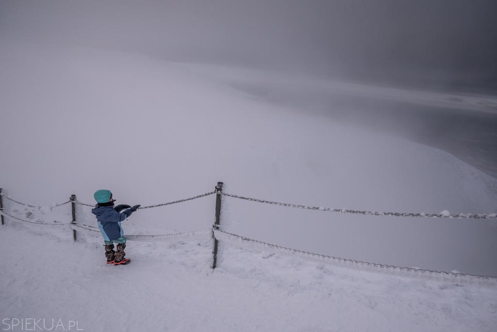 Karkonosze zima
