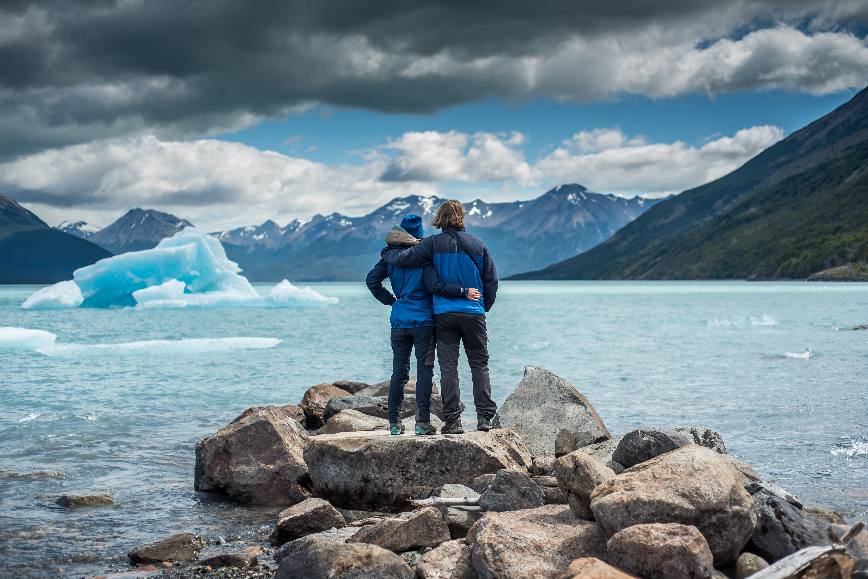 perito moreno lodowe góry