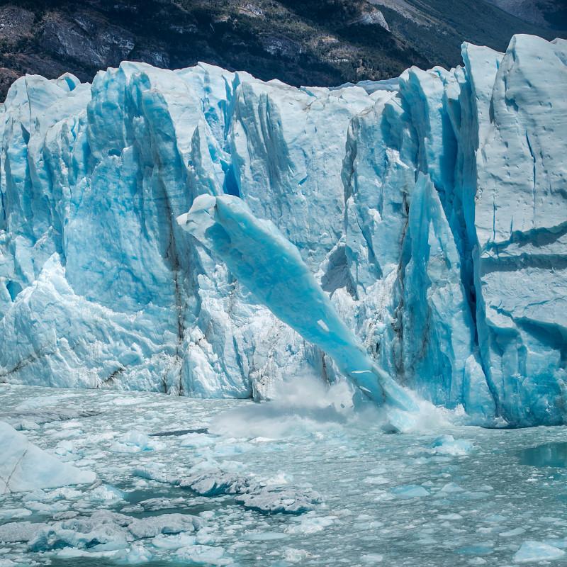 cielenie lodowca perito moreno