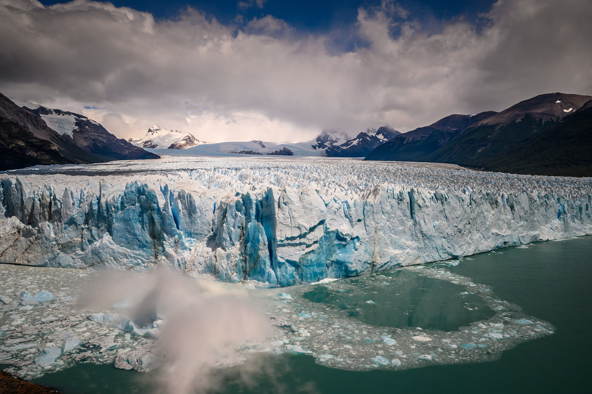 perito moreno ice crush