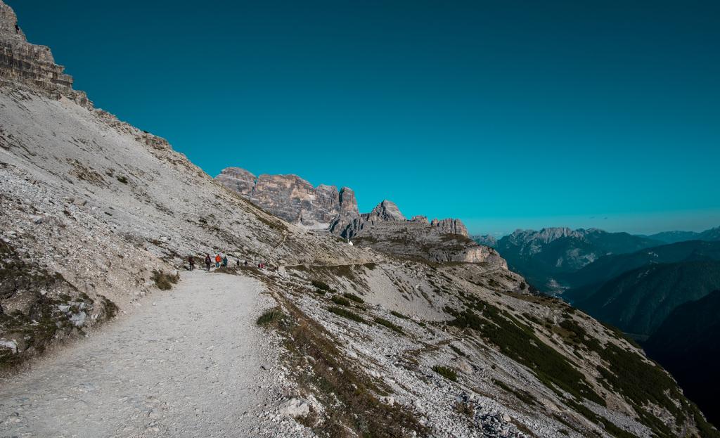 Dolomity trekking wokół tre cime