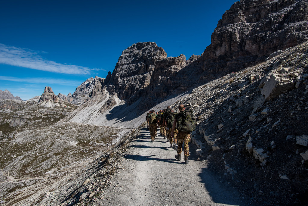 trekking dolomity