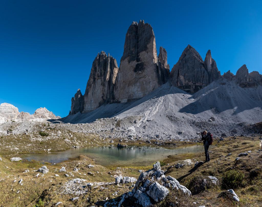 tre cime trekking