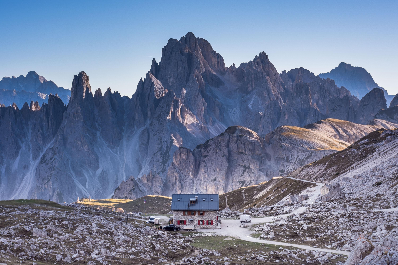 Dolomity trekking tre cime