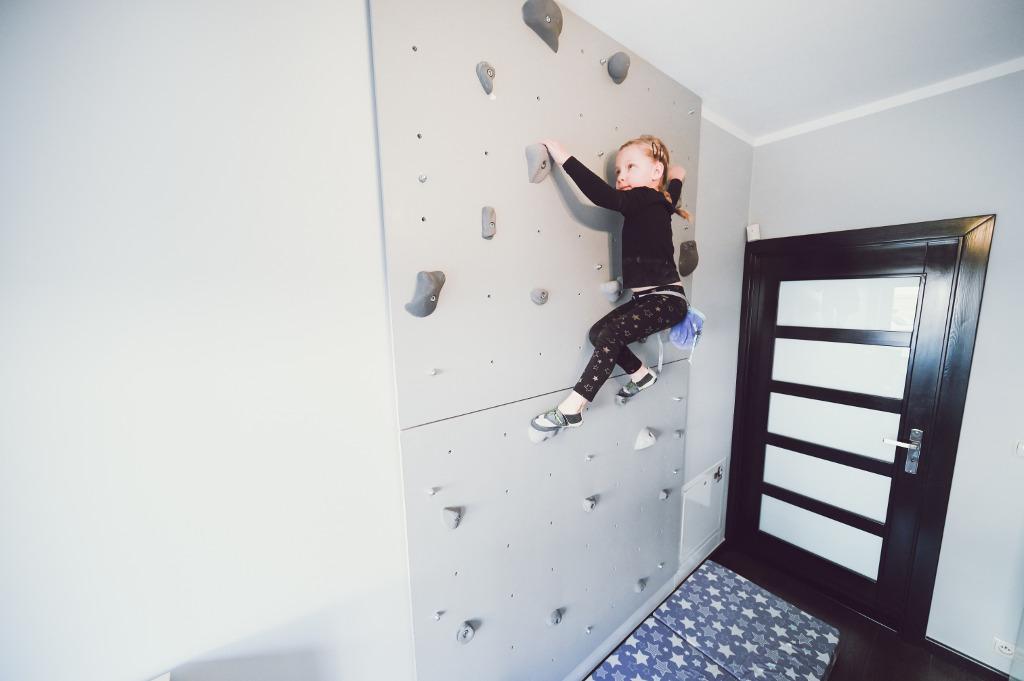 dziecko wspinaczka