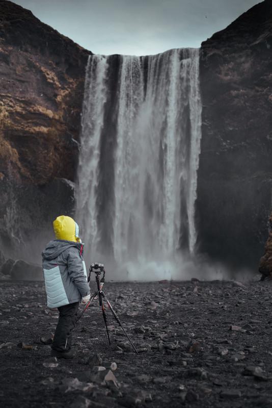 zimowa islandia z dzieckiem