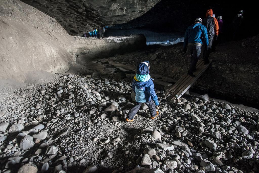 jaskinie lodowe z dzieckiem