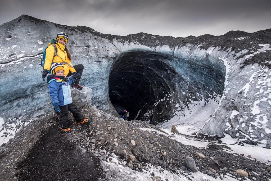 islandia jaskinia lodowa