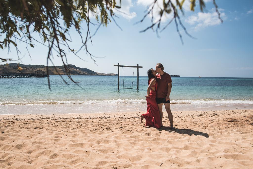 dziesiąta rocznica ślubu na rajskiej wyspie