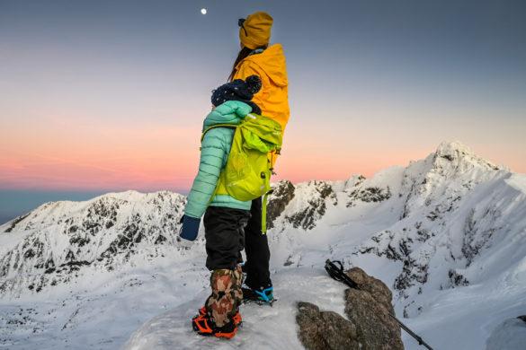 jak ubrać dziecko zimą w góry