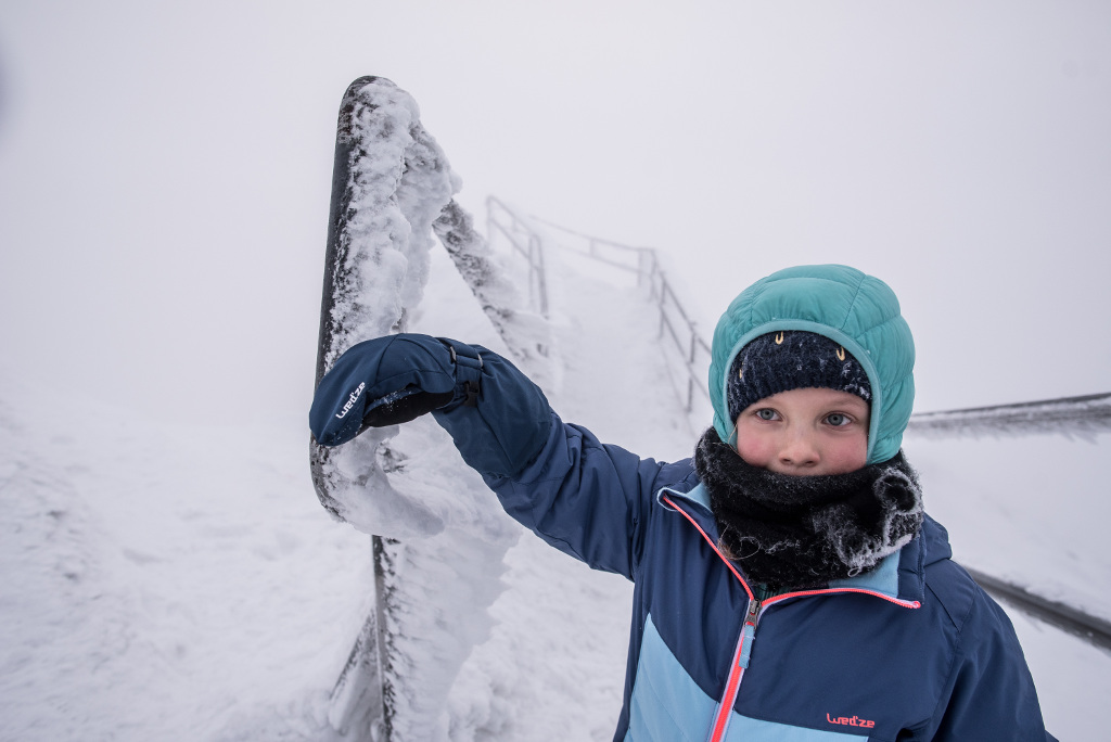 zimowe rękawice dla dziecka