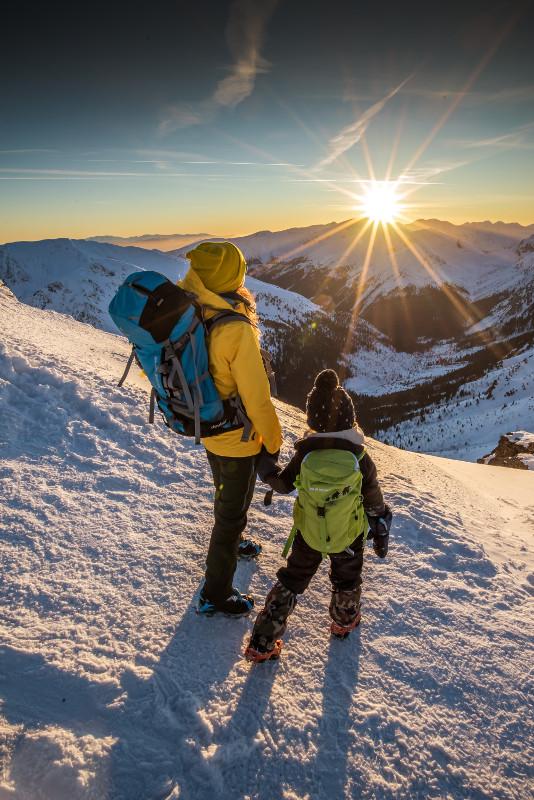zima w Tatrach z dzieckiem