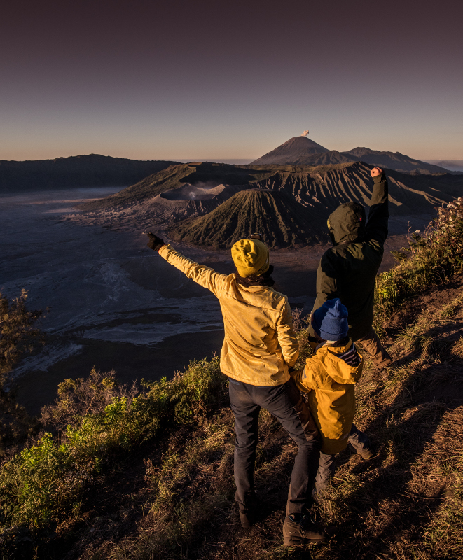 King Kong Hill Bromo sunrise