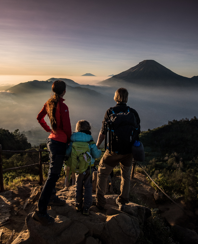 dieng wulkan indonezja wschód słońca
