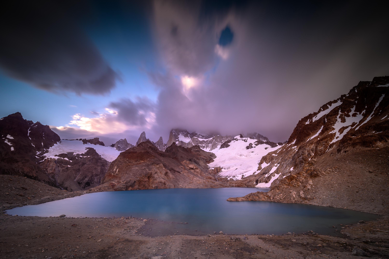 lago de los tres patagonia