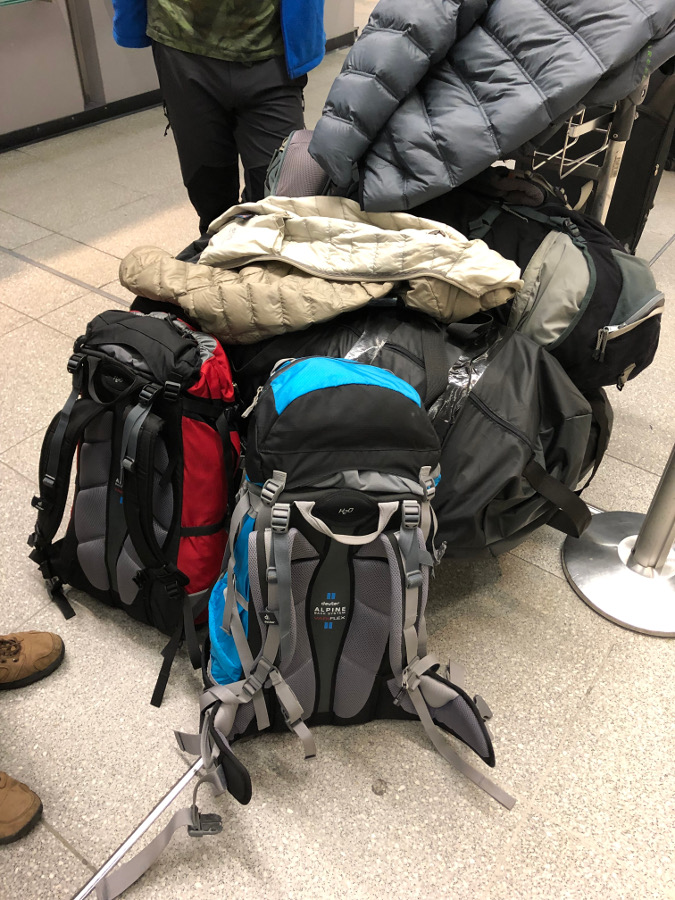 bagaże patagonia