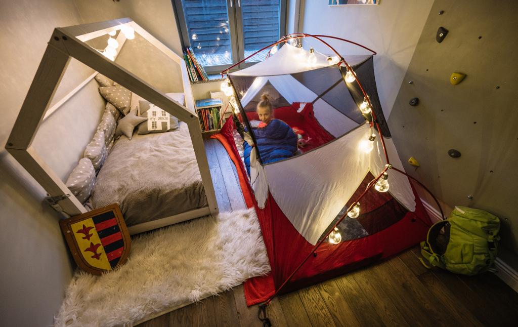 namiot w domu