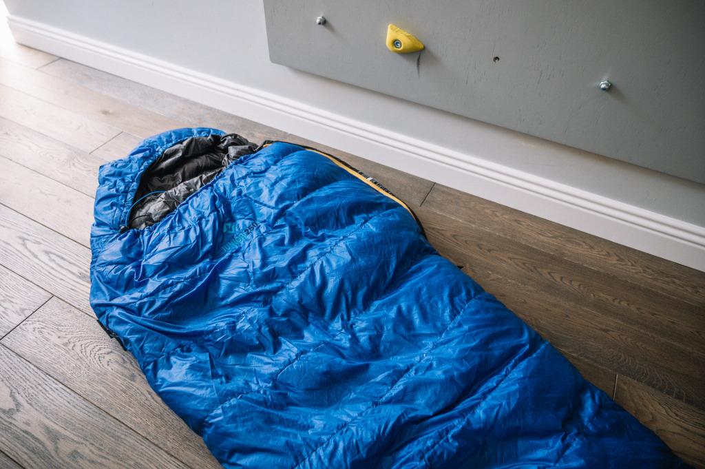 śpiwór puchowy dla dzieci cumulus