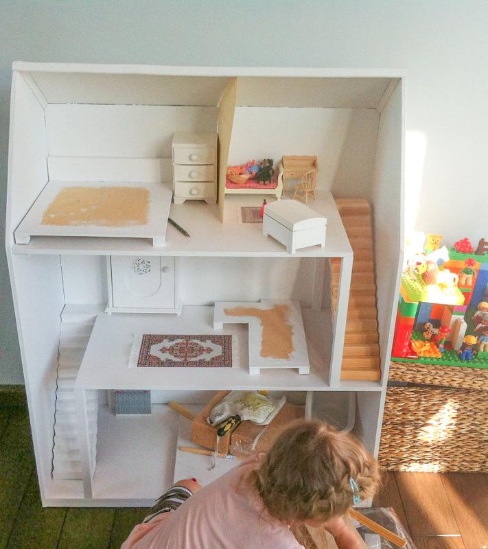 domek dla lalek budowa
