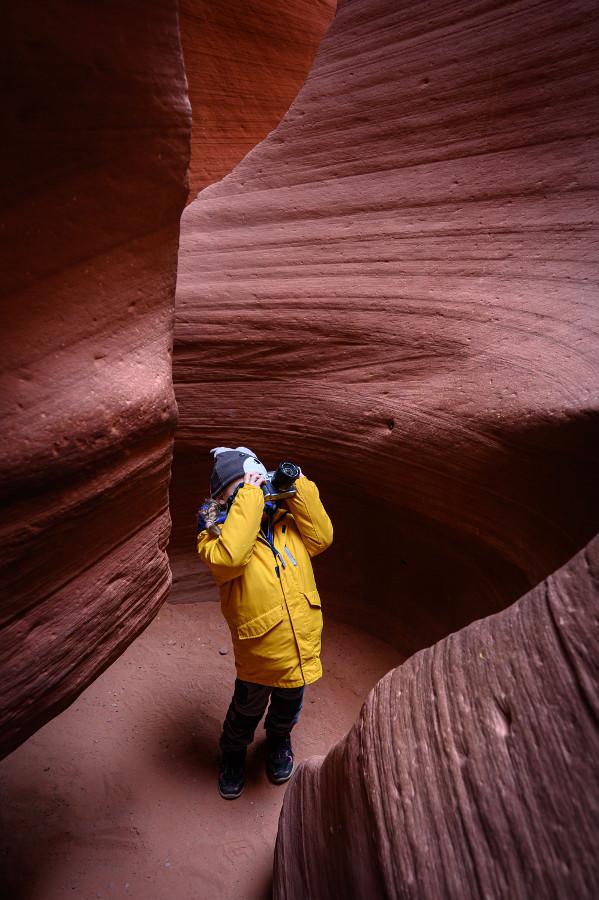 fotografowanie w Kanionie ANtylopy