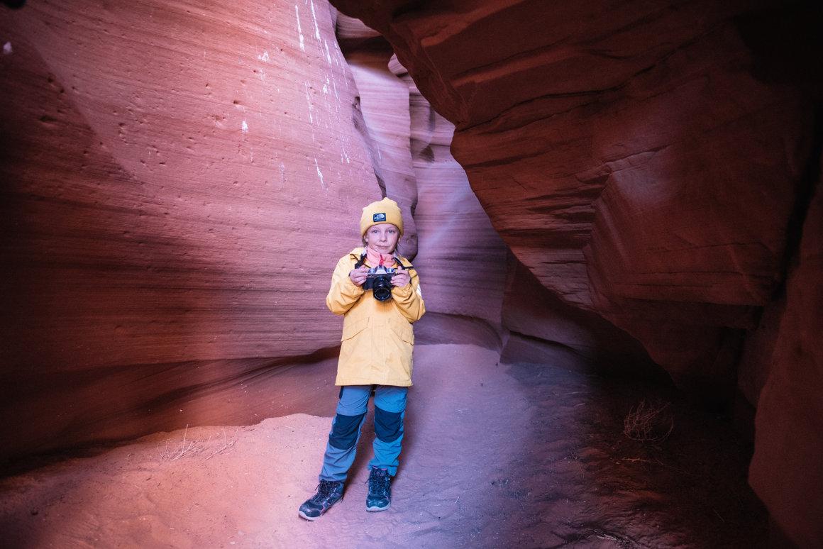 fotografowanie w Kanionie Antylopu