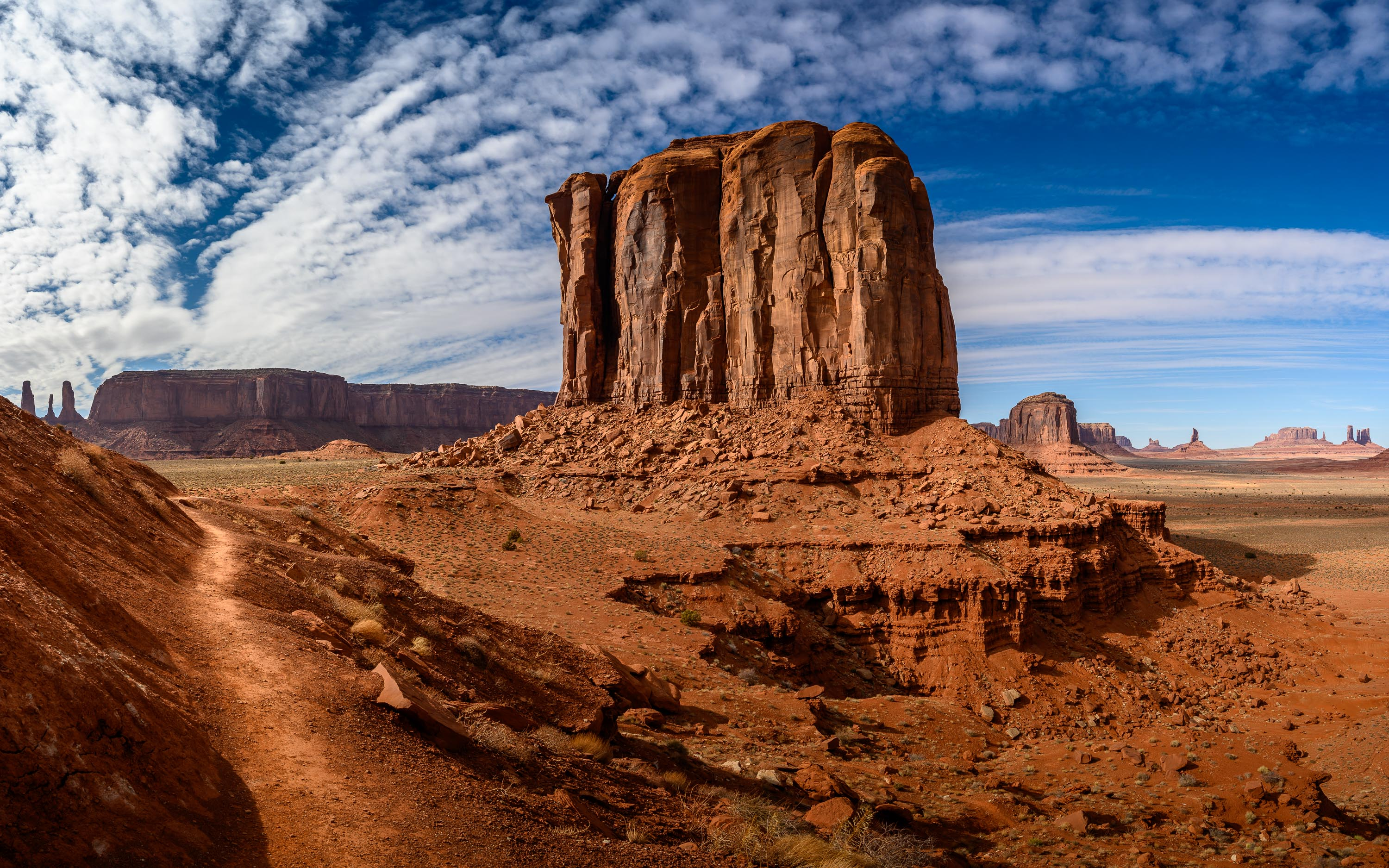 Monument Valley punkty widokowe