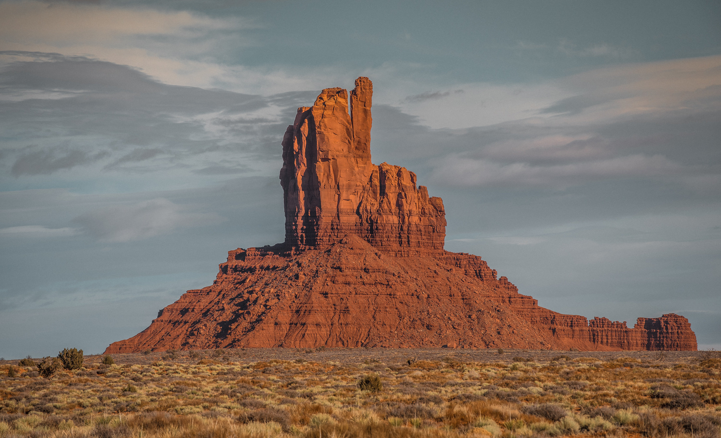 droga do Monument Valley