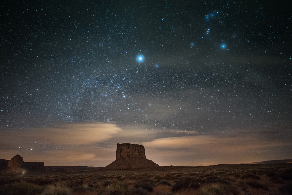 Monument Valley nocne zdjęCIA