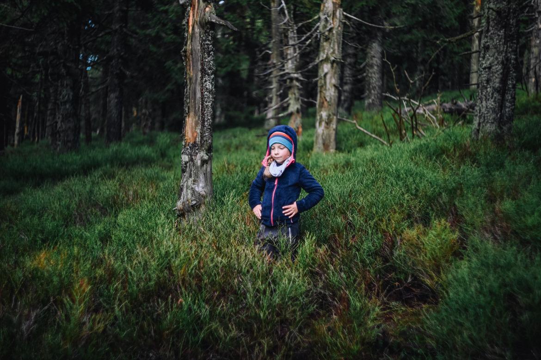 Korona Gór Polski z dzieckiem Śnieżnik