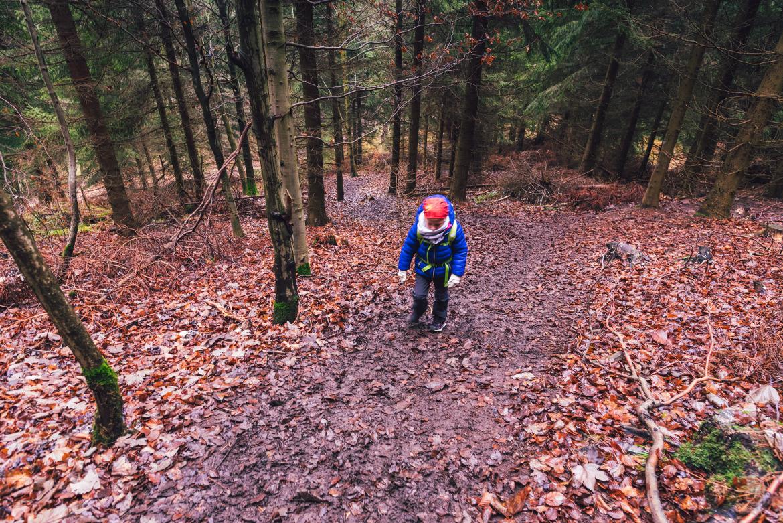 Opis trasy na Waligórę Korona gór polski z dzieckiem