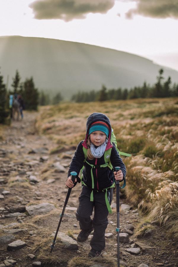 Śnieżnik z dzieckiem Korona gór Polski