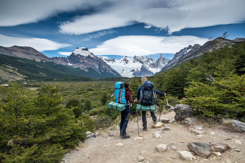 mata trekkingowa