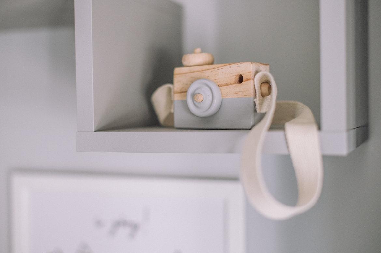 drewniany aparat