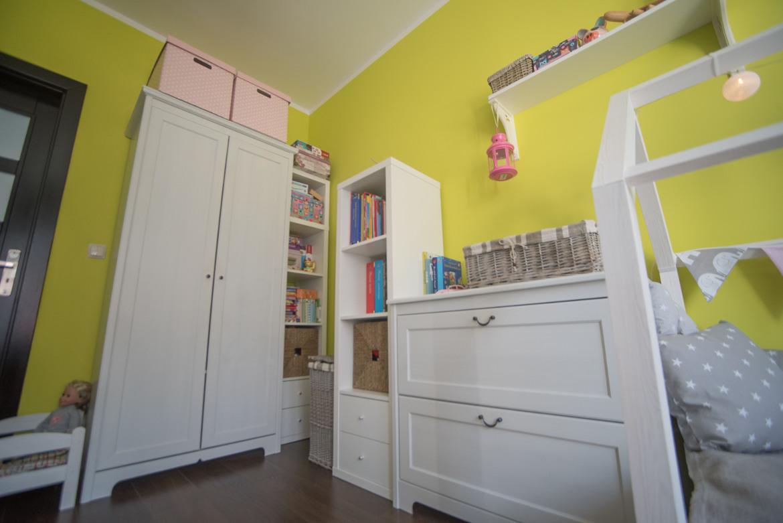 pokój dziecięcy biało zielony ikea