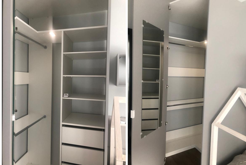 wnętrze garderoby meblik
